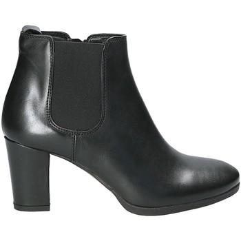 Schoenen Dames Enkellaarzen Mally 5500K Zwart