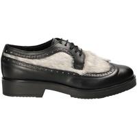 Schoenen Dames Derby Mally 4665SA Zwart
