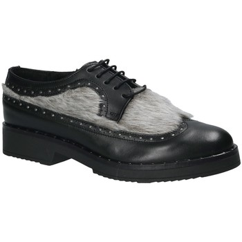 Schoenen Dames Derby Mally 4665SD Zwart