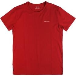Textiel Heren T-shirts korte mouwen Key Up 2G69S 0001 Rood