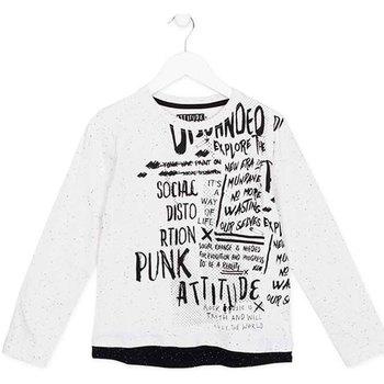 Textiel Kinderen T-shirts met lange mouwen Losan 723 1005AA Wit