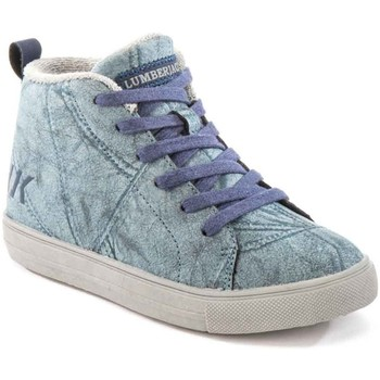 Schoenen Kinderen Hoge sneakers Lumberjack SB32705 003 M64 Bleu