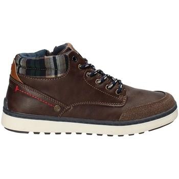 Schoenen Kinderen Hoge sneakers Wrangler WJ17219 Bruin