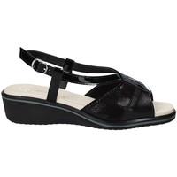 Schoenen Dames Sandalen / Open schoenen Susimoda 270414-01 Zwart