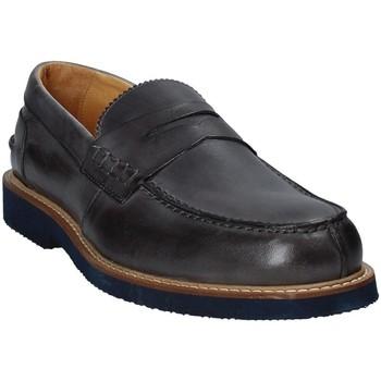 Schoenen Heren Mocassins Exton 9102 Grijs