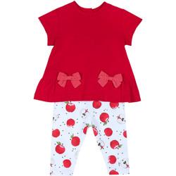 Textiel Meisjes Setjes Chicco 09076397000000 Rood