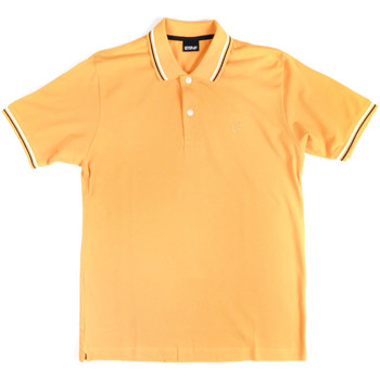 Textiel Heren Polo's korte mouwen Key Up 2Q70G 0001 Geel