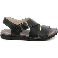 Schoenen Heren Sandalen / Open schoenen Grunland SA1853 Zwart