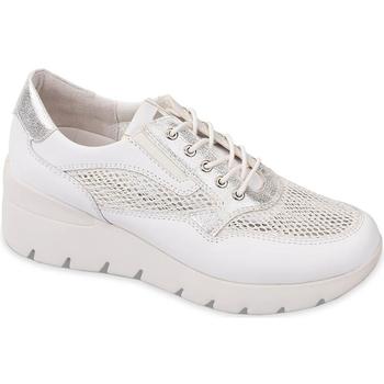 Schoenen Dames Lage sneakers Valleverde 18252 Blanc