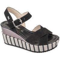 Schoenen Dames Sandalen / Open schoenen Valleverde 32435 Noir