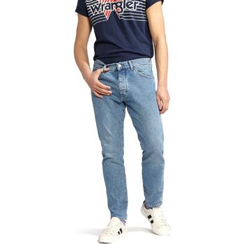 Textiel Heren Straight jeans Wrangler W18RER Blauw