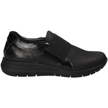 Schoenen Dames Instappers Grunland SC3908 Zwart