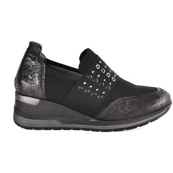 Schoenen Dames Instappers Melluso R25510 Zwart