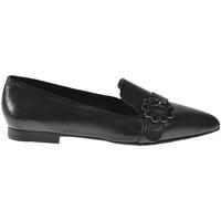 Schoenen Dames Mocassins Elvio Zanon I3203B Zwart
