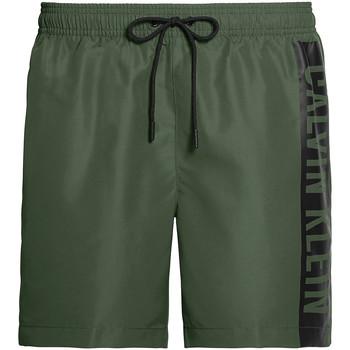 Textiel Heren Zwembroeken/ Zwemshorts Calvin Klein Jeans KM0KM00437 Groen