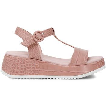 Schoenen Dames Sandalen / Open schoenen Café Noir HB950 Roze