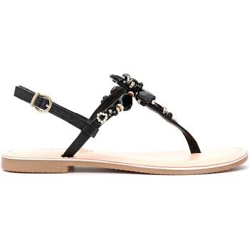 Schoenen Dames Sandalen / Open schoenen Café Noir GH932 Zwart