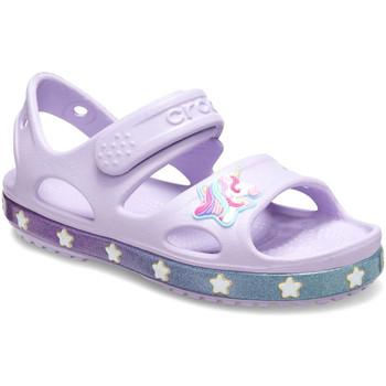 Schoenen Kinderen Sandalen / Open schoenen Crocs 206366 Roze