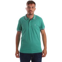 Textiel Heren Polo's korte mouwen Navigare NV82077 Groen