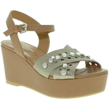 Schoenen Dames Sandalen / Open schoenen Mally 6237 Bruin