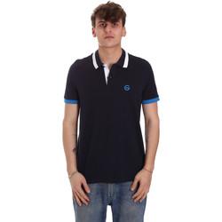 Textiel Heren Polo's korte mouwen Gaudi 011BU64043 Blauw