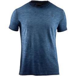 Textiel Heren T-shirts korte mouwen Lumberjack CM60343 004 517 Blauw