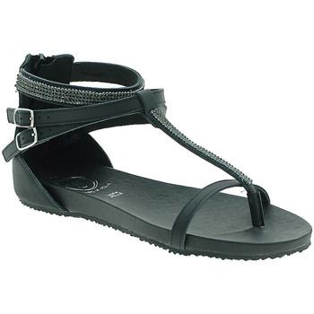 Schoenen Dames Sandalen / Open schoenen 18+ 6110 Zwart