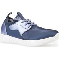 Schoenen Kinderen Lage sneakers Geox J826DB 015NF Bleu