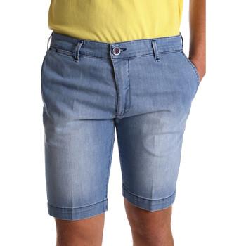 Textiel Heren Korte broeken / Bermuda's Sei3sei PZV132 7118 Blauw
