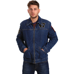 Textiel Heren Spijker jassen Wrangler W4580512L Blauw
