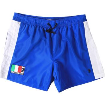 Textiel Heren Zwembroeken/ Zwemshorts U.S Polo Assn. 45282 41393 Blauw