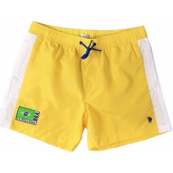 Textiel Heren Zwembroeken/ Zwemshorts U.S Polo Assn. 45282 41393 Geel