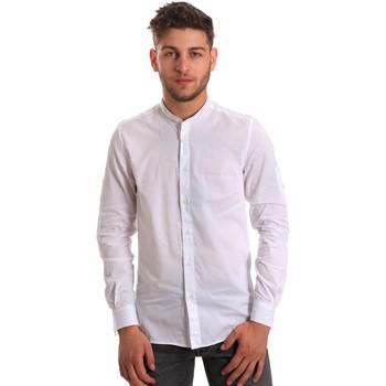Textiel Heren Overhemden lange mouwen Antony Morato MMSL00429 FA440006 Wit
