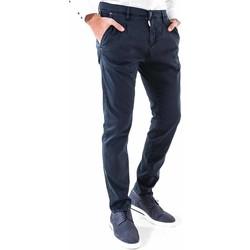 Textiel Heren Chino's Antony Morato MMTR00378 FA800077 Blauw