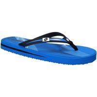 Schoenen Heren Slippers Lotto T4761 Blauw