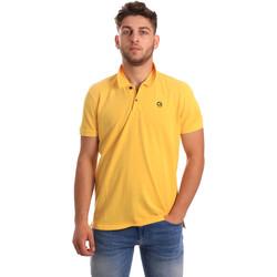 Textiel Heren Polo's korte mouwen Gaudi 811BU64074 Geel