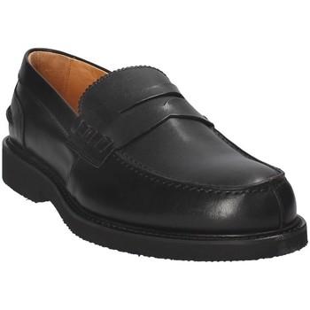 Schoenen Heren Mocassins Exton 9102 Zwart