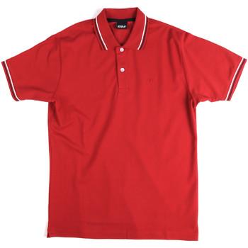 Textiel Heren Polo's korte mouwen Key Up 2Q70G 0001 Rood