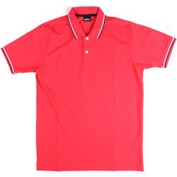 Textiel Heren Polo's korte mouwen Key Up 2Q70G 0001 Roze