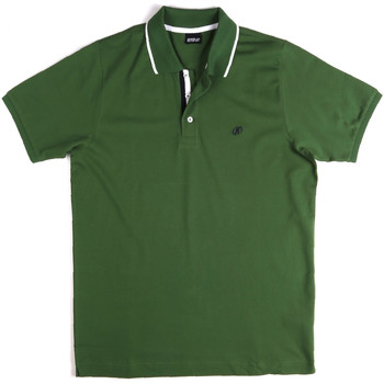 Textiel Heren Polo's korte mouwen Key Up 2Q711 0001 Groen