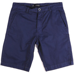 Textiel Heren Korte broeken / Bermuda's Key Up 2A01P 0001 Blauw