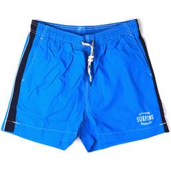 Textiel Heren Zwembroeken/ Zwemshorts Key Up 2H17X 0001 Blauw