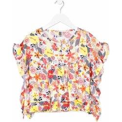 Textiel Meisjes Overhemden Losan 814-3003AB Oranje