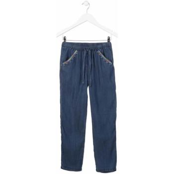 Textiel Meisjes Straight jeans Losan 814-9005AB Blauw