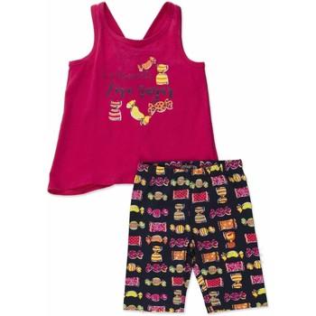 Textiel Meisjes Setjes Losan 816-8044AD Roze