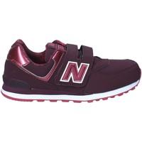 Schoenen Kinderen Lage sneakers New Balance NBKV574F2Y Rouge