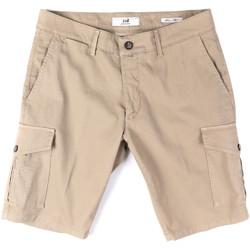 Textiel Heren Korte broeken / Bermuda's Sei3sei PZV130 8157 Beige
