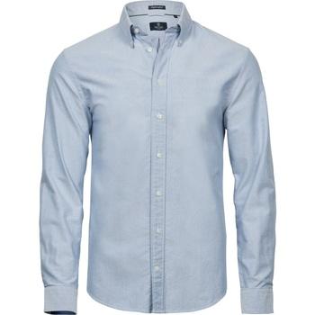 Textiel Heren Overhemden korte mouwen Tee Jays TJ4000 Lichtblauw