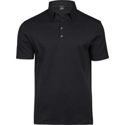 Textiel Heren Polo's korte mouwen Tee Jays T1440 Zwart