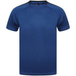 Textiel T-shirts korte mouwen Finden & Hales LV290 Royal Blue/Navy